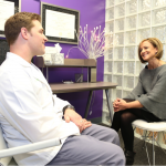 Dentist consultation with patient in Tulsa, ok with Dr. Ryan Roberts.