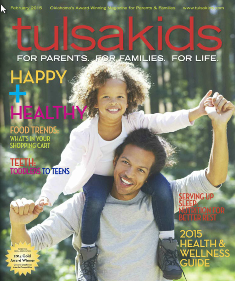 tulsakids february cover, ryan inside