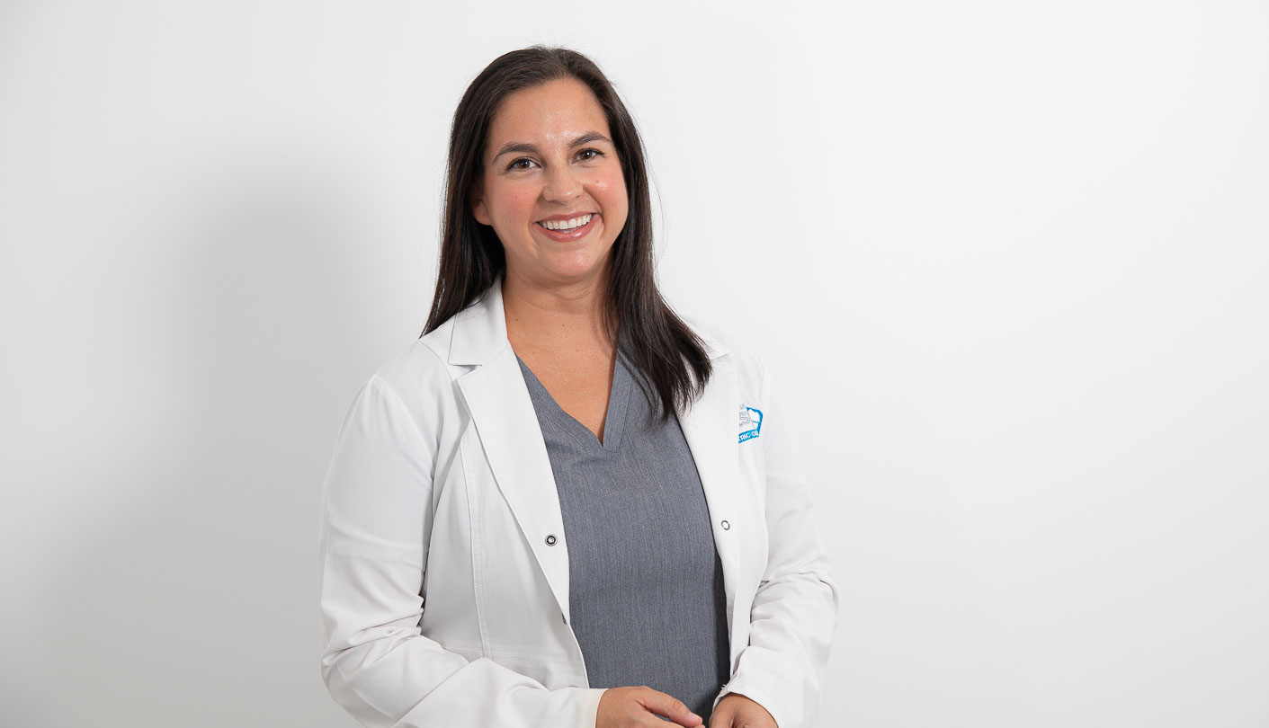 Board Certified Pediatric Dentist Doctor Chelsea Taliaferro smiling