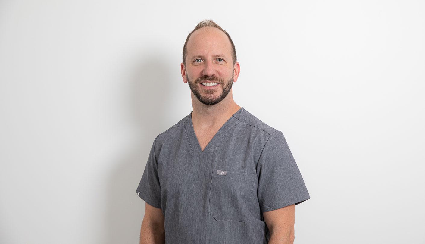 Board Certified Pediatric Dentist Doctor Kristofer Sivanich smiling